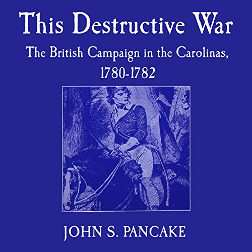 This Destructive War audiobook cover art