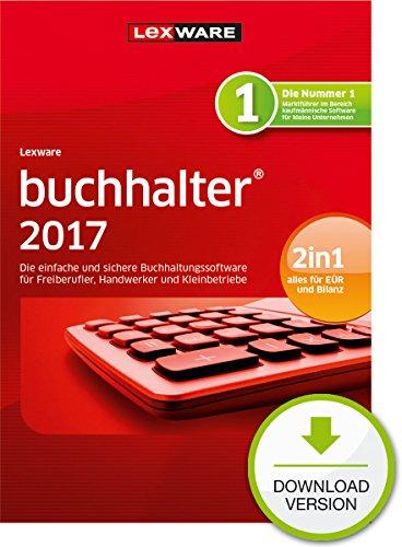 Lexware buchhalter 2017 basis-Version PC Download (Jahreslizenz) / Einfache Buchhaltungs-Software für Freiberufler, Handwerker, Kleinunternehmen & Vereine / Kompatibel mit Windows 7 oder aktueller
