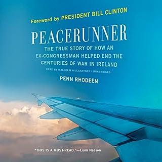 Peacerunner audiobook cover art