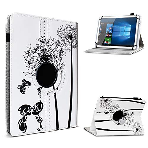 UC-Express Tablet Hülle kompatibel für Lenovo TAB3 10 Business/Plus Tasche Schutzhülle Hülle Cover 360° Drehbar, Farbe:Motiv 8
