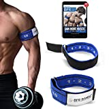 BFR BANDS Occlusion Training Bands, 2 in Rigid Edition, Blood Flow Restriction Bands Give Lean & Fast Muscle Growth Without Lifting Heavy Weights - Strong Adjustable Strap + Comfort Liner (Arms)