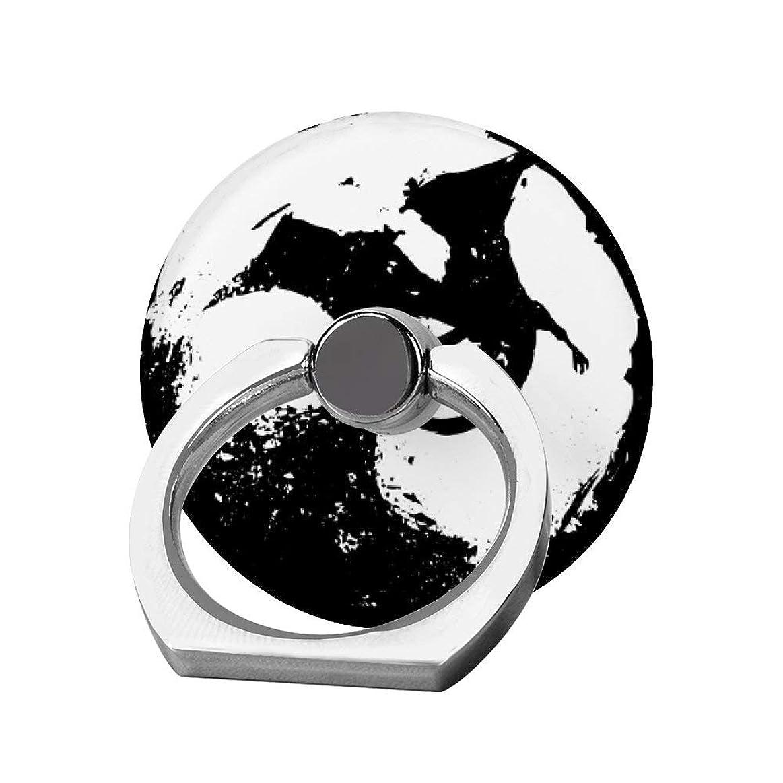 国民投票バレル汚すスマホリング 携帯リング 指リング 薄型 落下防止 スタンド機能 恐ろしい コウモリ バンカーリング 指輪リング タブレット/各種他対応 360回転 スマホブラケット