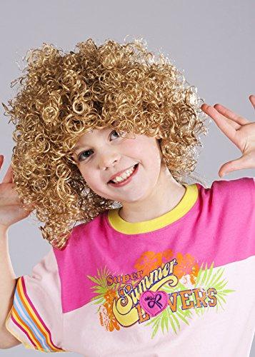 Enfants Barbapapa blonds bouclés perruque de Style