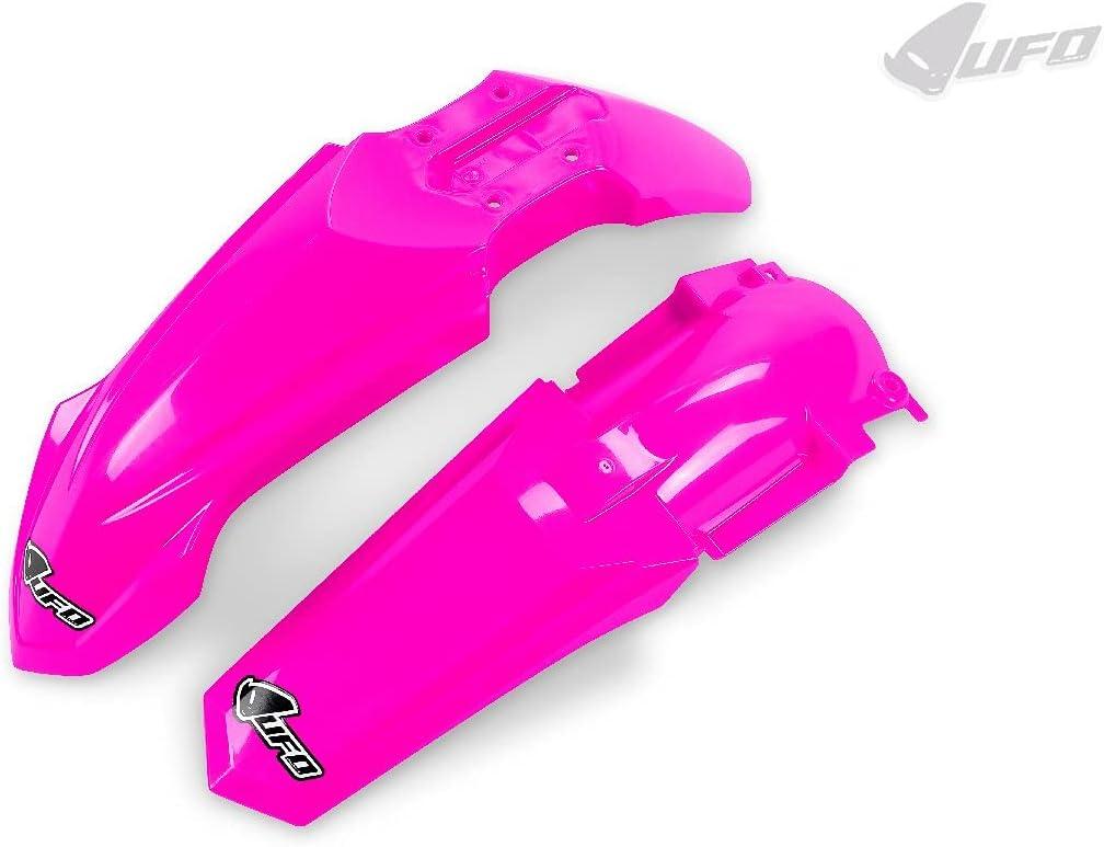 UFO PLAST Kit guardabarros / Fenders kit fucsia / neón rosa compatible con Yamaha YZ 85 de 2015 a 2021