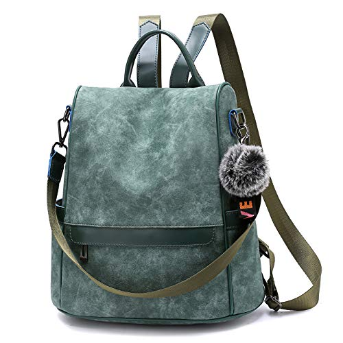 TcIFE Mochila Mujer Antirrobo Cuero Sintético Casual Bolsa Impermeable Bolso de Viaje Messenger Bag Backpack