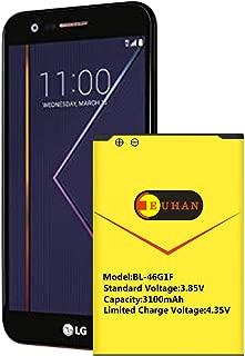 LG K20 Plus Battery, Euhan 3100mAh Li-ion Battery BL-46G1F Replacement for LG K20 Plus / LV5 (MetroPCS MP260, T-Mobile TP260, Verizon Wireless VS501)   K20 Plus Spare Battery [24 Month Warranty]