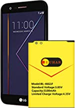 LG K20 Plus Battery, Euhan 3100mAh Li-ion Battery BL-46G1F Replacement for LG K20 Plus / LV5 (MetroPCS MP260, T-Mobile TP260, Verizon Wireless VS501) | K20 Plus Spare Battery [24 Month Warranty]