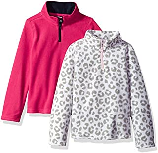 French Toast Girls' Long Sleeve Microfleece 2-Pack