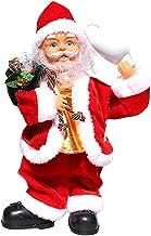 Colcolo Música elétrica boneca do papai noel interno enfeite ao ar livre crianças bebê crianças brinquedo engraçado Natal ...