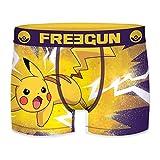 FREEGUN Pokemon Microfibra POKEMON-92% poliéster 8% Elastano, Boxer Unitario T319/1, S para Hombre