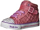 Zapatillas de deporte Shuffles-Sweetheart para ni?a, rosa, 10 M US Toddler