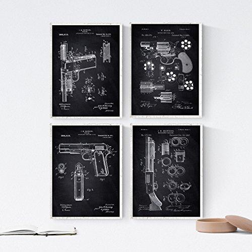 51oiTjsLEeL. SL500  - Retro Patents, les Plus Célèbres Brevets en Affiches Déco - Retro, Poster, Maison, Jeux, Déco