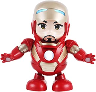 Maxwell | Dancing Iron Man | Christmas Kids With Gifts | There is Music And Lights | Child's Birthday Present