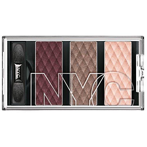 N.Y.C. New York Color HD Color Trio Eye Shadow, Central Park Plums, 0.158 Ounce