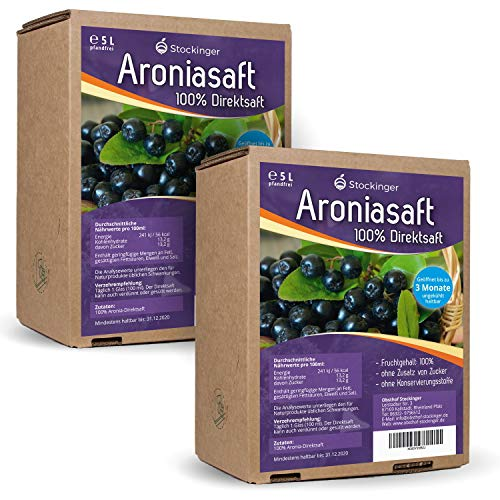 Obsthof Stockinger -  2 x 5L  Aronia