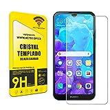 actecom Cristal Templado Protector Pantalla Compatible con Huawei Y5 2019