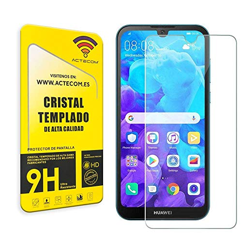 actecom Cristal Templado Protector Pantalla Huawei Y5 2019