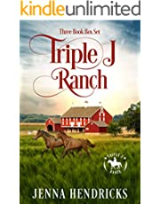 Triple J Ranch Boxed Set #1: Clean & Wholesome Cowboy Romance