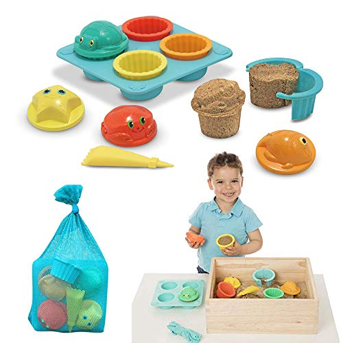 12-Pc Melissa & Doug Seaside Sidekicks Sand Cupcake Set $8.90 + Free Shipping w/ Amazon Prime or Orders $25+