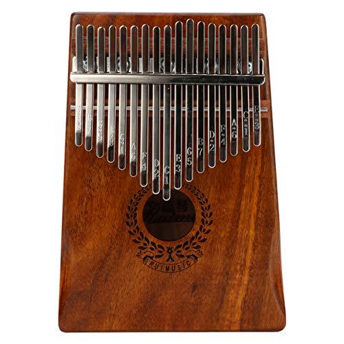 Healifty Kalimba Daumen Klavier 17 Tasten Kalimba Mbira Instrument Finger Klavier 17 Tasten Musikinstrumente Spielzeug für Anfänger