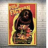 manyaxiaopu Vintage Poster Klassiker Film Pulp