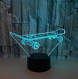 Scooter 3D Nightlight Colorful Touch Led 3D Usb Lamp Power Led Night Light Luminaria De Mesa Accesorios De Iluminación 3D