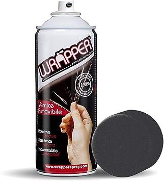 Wrapper Spray Vernici Rimovibili Tinta Metallizzata, Nero: Amazon