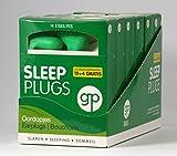 4 + 2 gratis imballaggi di 7 paia di tappi auricolari per dormire, riposare, studiare e protezione
