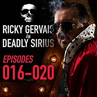 Ricky Gervais Is Deadly Sirius: Episodes 16-20 cover art