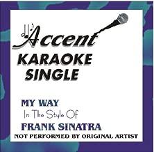 My Way By Frank Sinatra Karaoke CD+G Single