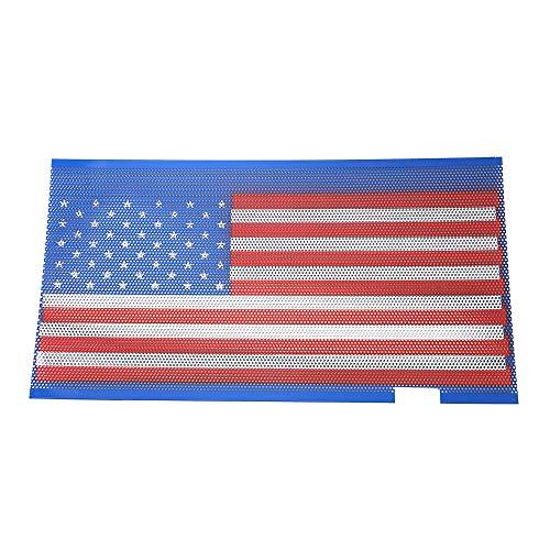 Kshzmoto Amerikanische Flagge-Frontgrilleinsatz für Jeep Wrangler 2007-2018