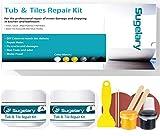 Tub, Tile and Shower Repair Kit (Color Match), Fiberglass Repair Kit,...