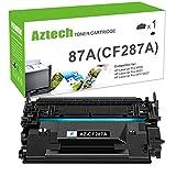 Aztech Compatible Toner Cartridge Replacement for HP 87A CF287A 87X CF287X HP Laserjet Enterprise M506 M506dn M506n M506x HP Laserjet Pro M501 M501dn M527 M527dn (Black, 1-Pack)