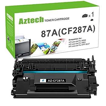 Aztech Compatible Toner Cartridge Replacement for HP 87A CF287A 87X CF287X HP Laserjet Enterprise M506 M506dn M506n M506x HP Laserjet Pro M501 M501dn M527 M527dn  Black 1-Pack