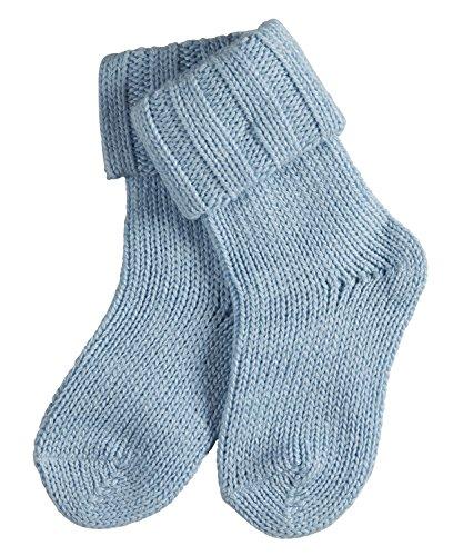 FALKE Baby Socken Flausch - Baumwollmischung, 1 Paar, Blau (Crystal Blue 6290), Größe: 62-68