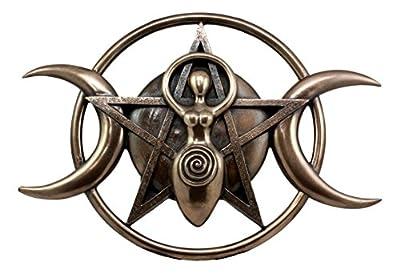 Shaman Lunar Celestial Triple Spiral Goddess Wall Decor