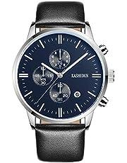 AKONI 腕時計 時計メンズ ステンレススチール防水 クロノグラフウオッ おしゃれ ビジネス カジュアル メタル男性腕時計