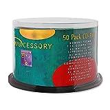 Compucessory CCS72102 CD Rewritable Media - CD-RW - 12x - 700 MB - 50 Pack