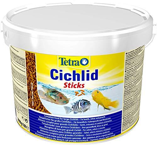 Tetra 153691 Cichlid Sticks Poissons eau douce tropicale 10 L