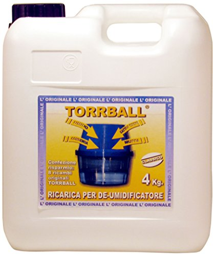 EUROMECI Torr-Ball Ricarica, Rirarica per Deumidificatore, 4000 g.
