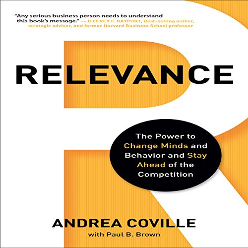 Relevance audiobook cover art