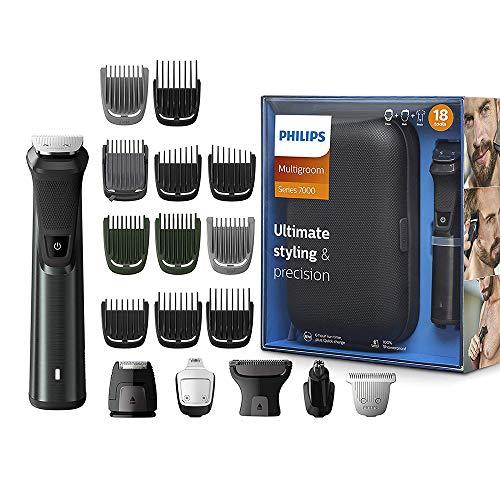 Philips Series 7000 18-in-1 Ultimate Multi Grooming Kit for Beard, Hair and...