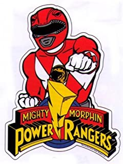 Best red power ranger decal Reviews