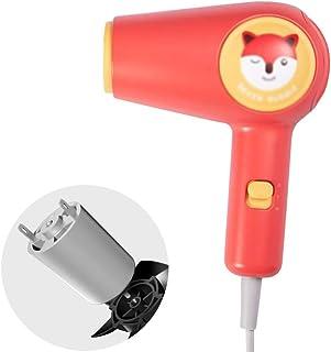 Secador de pelo portátil Ligero, secador de pelo con ajuste termostático, 400 W para secador de pelo, baja radiación, especial para madre y bebé, fácil de llevar