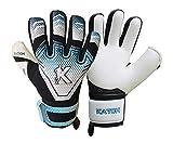 KATCH Vector Pro 03 Guantes de portero de fútbol de corte negativo profesional guantes de portero tamaño 6 sin dedo/sí personalización