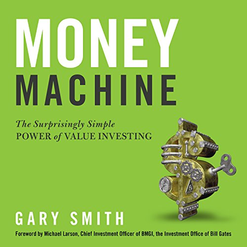 Money Machine audiobook cover art