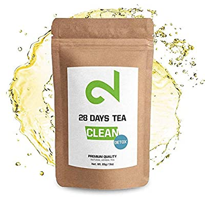 DUAL 28 Days Detox Tea for Weight Loss   Detox Tea   Diet & Fat Loss Tea   Cleanse Tea   Dietary Supplement   Natural Ingredients for More Successful Diet   Made in USA   3oz Loose Leaf (Detox Tea) from Dual