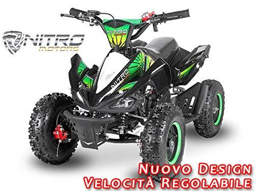 Motorbimbo Nitro Motors MIni Quad 50 Python 6 Deluxe Arancio