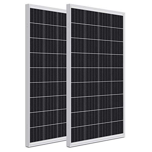WEIZE 200 Watt 12 Volt Monocrystalline Solar...