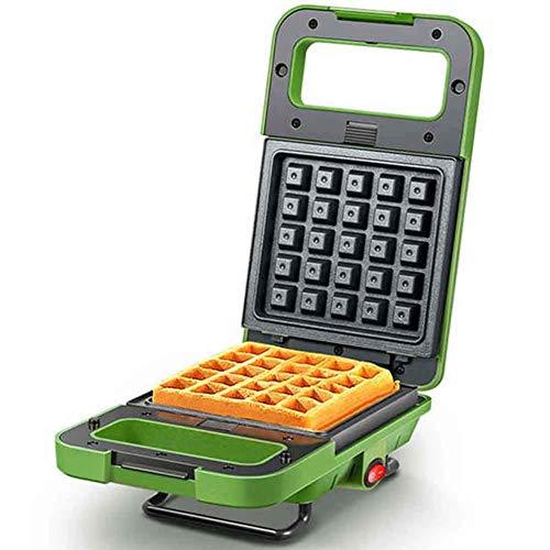 LIANGANAN Mini máquina de Hierro Máquina de Hierro Máquina para el hogar Máquina de Muffin No Stick Tostador eléctrico, fácil Limpio, Verde zhuang94